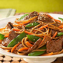 Asian Beef and Noodle Salad