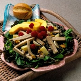 Fruited Pork and Wild Rice Salad