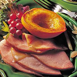 Honey Apricot Ham Steak