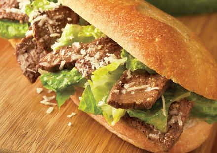 Caesar Steak Sandwich