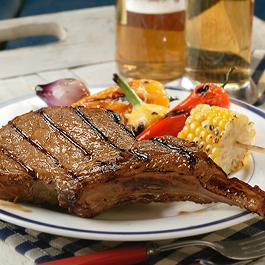 Beer-Grilled Pork Chops