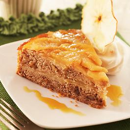 Spiced Apple Nut Cake