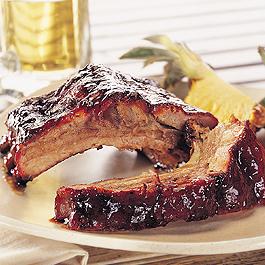 Kansas City Style Pork Back Ribs