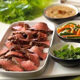 Tunisian Steak Lettuce Wraps