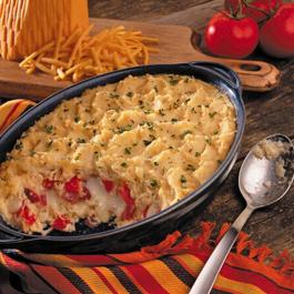 Hearty Havarti Reuben Potato Casserole