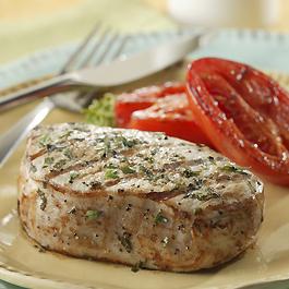Herb Marinated Pork Chops