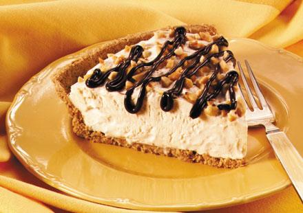 Fluffy Frozen Peanut Butter Pie