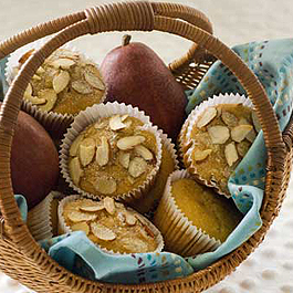 Gluten-Free Healthy Pear Muffins