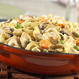 Turkey & Chicken Tetrazzini