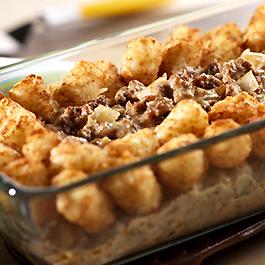 Beefy Hash Brown Potato Casserole