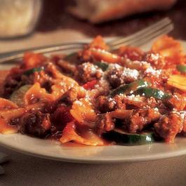 Beef & Parmesan Pasta