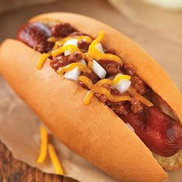Easy Chili-Cheese Dog