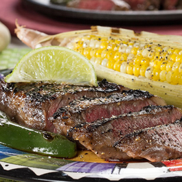 Sizzlin' Margarita Steak