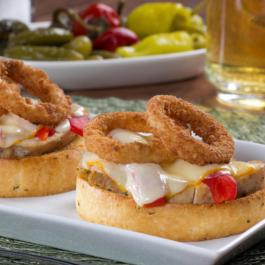 Over-the-Top Chicken Caesar Melt