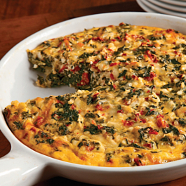 Easy Cheesy Frittata