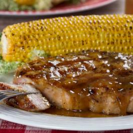Honey Mustard Grilled Pork Chops