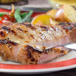 Beer-Brined Pork Chops
